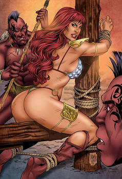 Red Sonja - Captive (COLORS)