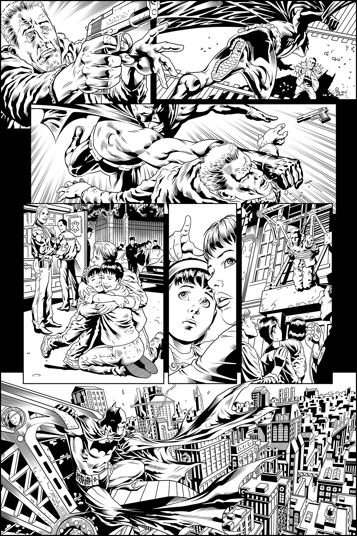 Batman - Test Page 05 (INKS)