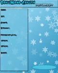 BokuMono-Gakuen: Frost Dorm App by Miss-Gravillian1992