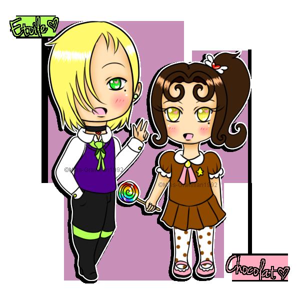 Petite Etoile et Chocolat