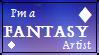 Fantasy Artist Stamp by TwilightTraveler