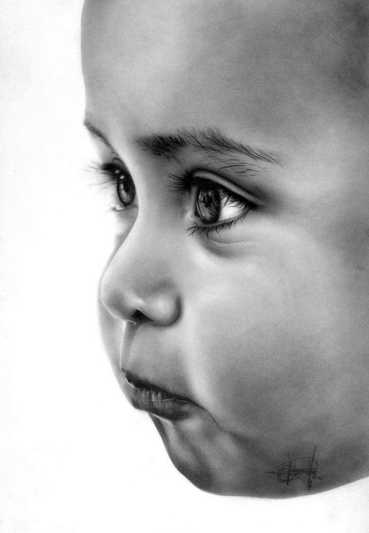Graphite and Charcoal on paper by 00VLAD00
