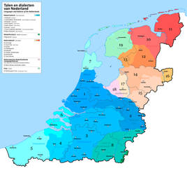 Languages of the alt-historical Netherlands by altmaps
