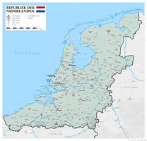 A new map of the alt-historical Netherlands