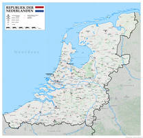 Yet another map of the Greater Netherlands