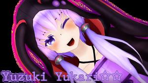 Yuzuki Yukari by KiddaDesu