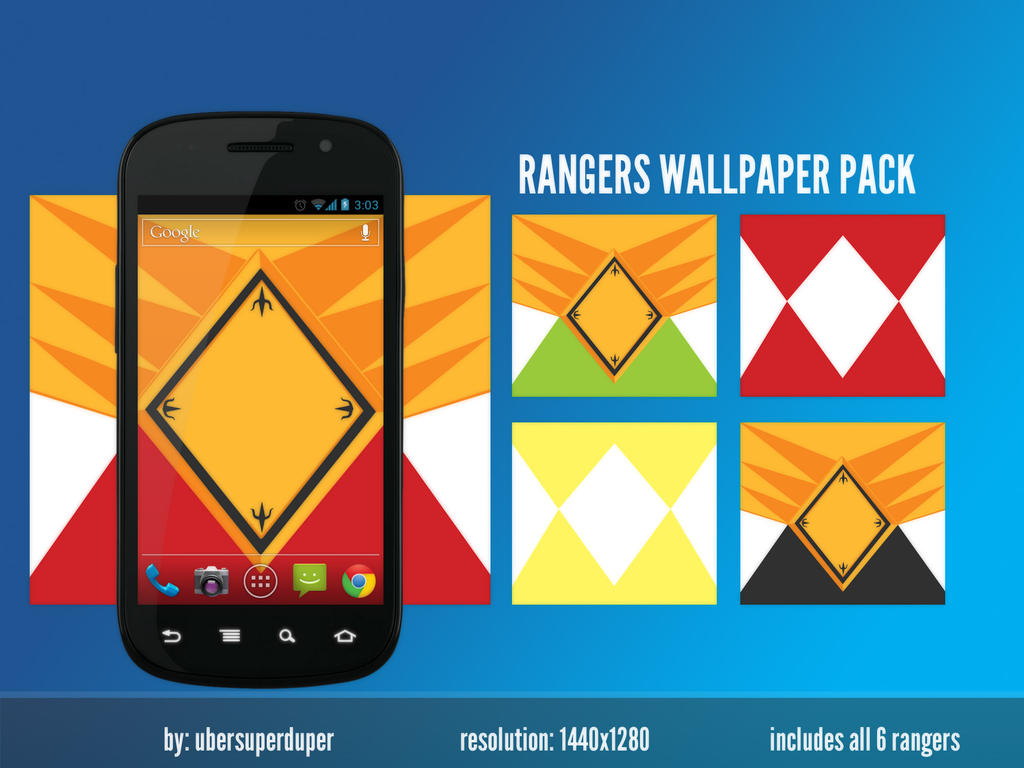 power rangers android wallpaper packnoisecollapse on deviantart