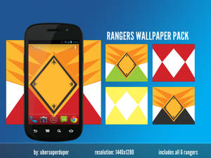 Power Rangers Android Wallpaper Pack