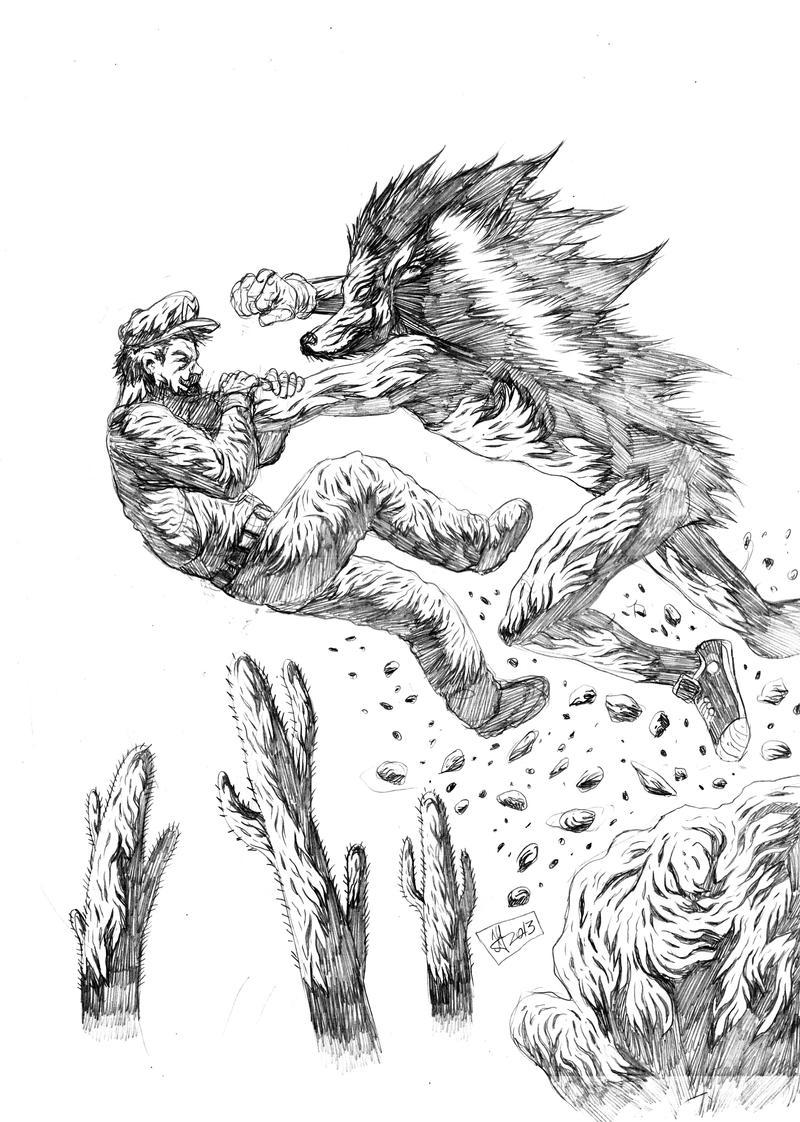 mario vs sonic by krollo on DeviantArt