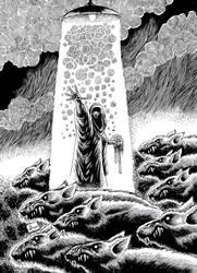 el gran Guaren-la venganza del rey Rata 3-cover by krollo
