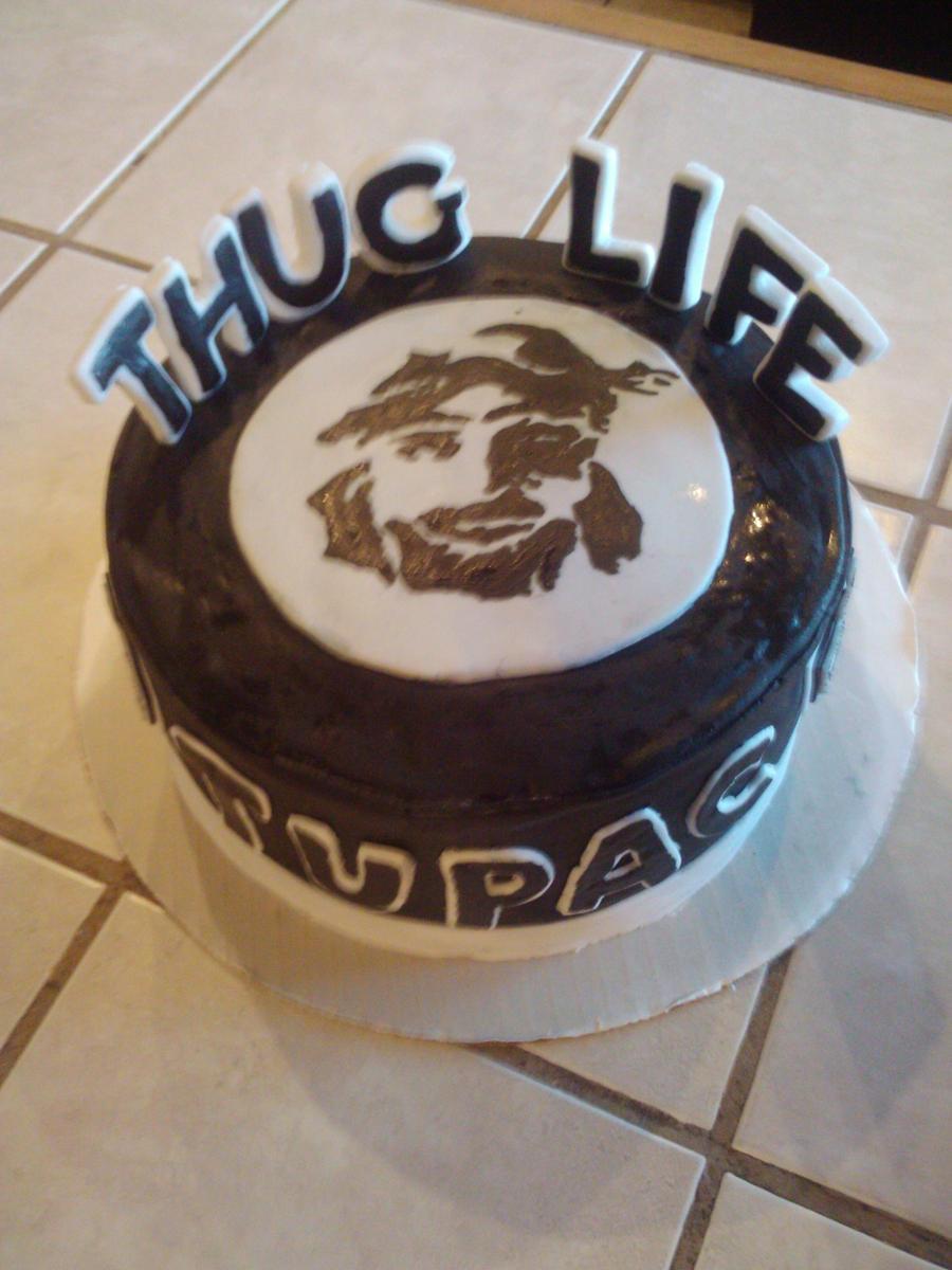Tupac Shakur Birthday Cake