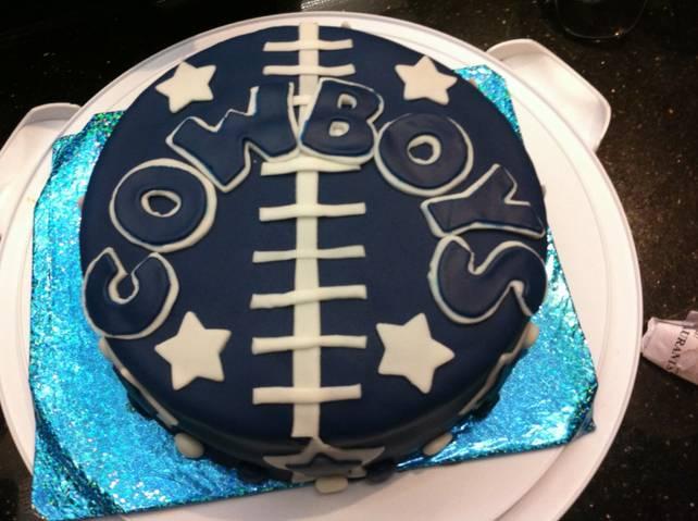 Dallas Cowboys Cake By Msmonai On Deviantart