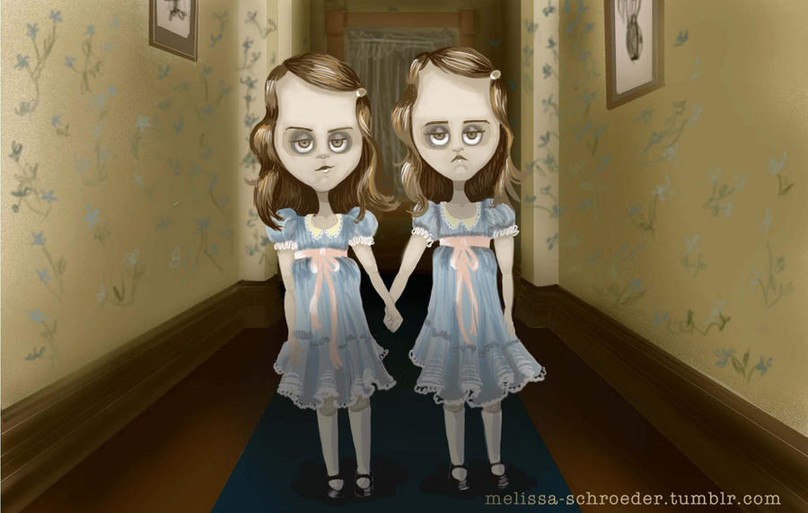 the shining twins by MelissaSchroeder
