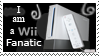 I am a wii fanatic stamp by grkcuban