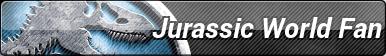 Jurassic World Fan Button by kayaqi