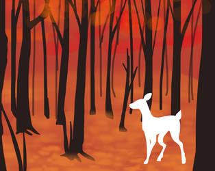Orange woods by BurntGears