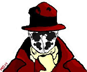 Rorschach Coloured by Codename-GreyFox