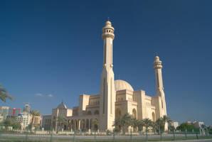 Al Fateh Grand Mosque (rear) - Bahrain by wafitz