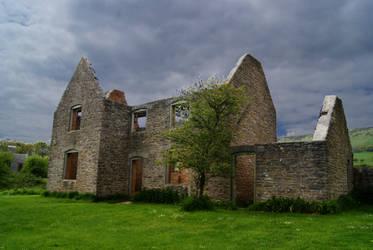Cottage Ruins, Tyneham by wafitz