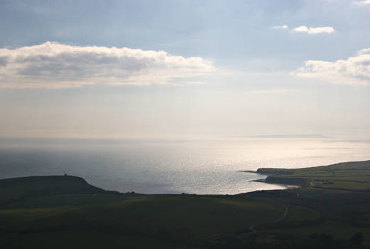 Kimmeridge Bay, Late Afternoon