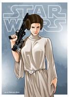 Princess Leia 01 by LazarusClortho