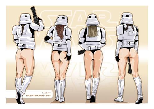 Stormtrooper Girls
