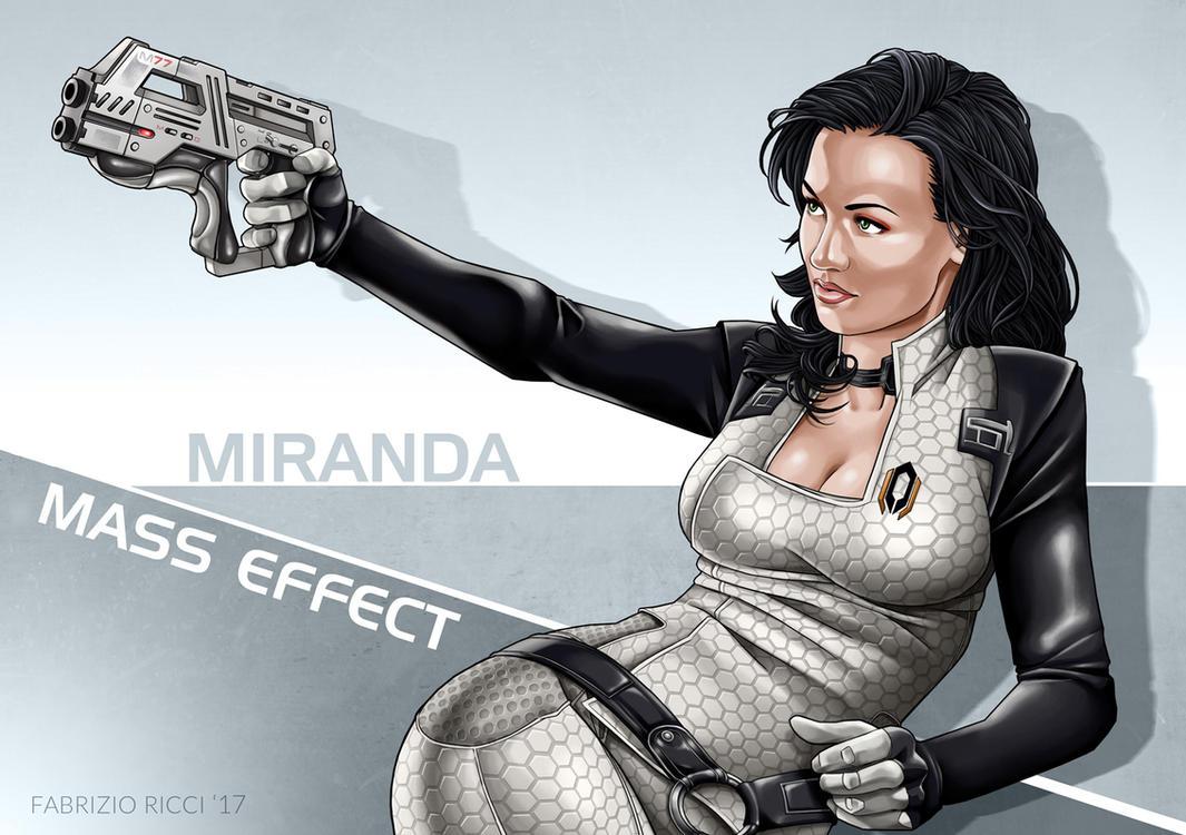 Miranda Lawson by LazarusClortho