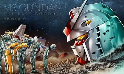 MS Gundam - The last goodbye by LazarusClortho
