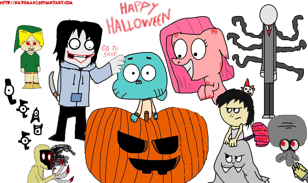 A Halloween Day By Natomx On Deviantart