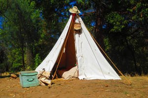 372 - Gold Miner's Tent
