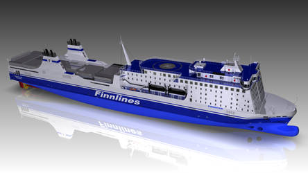 MS Finnstar  - Baltic Sea Ferry -