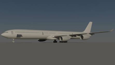 Airbus A340-600 - Work in Progress - by Bartolomeus755