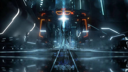 TRON: Legacy Wallpaper by WickedDogg