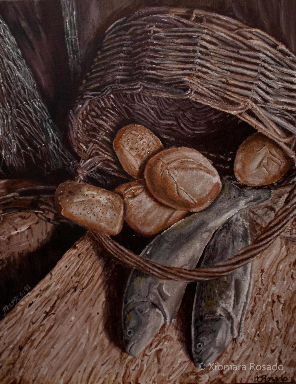 5 Loaves 2 Fish by Xiomara05 on DeviantArt