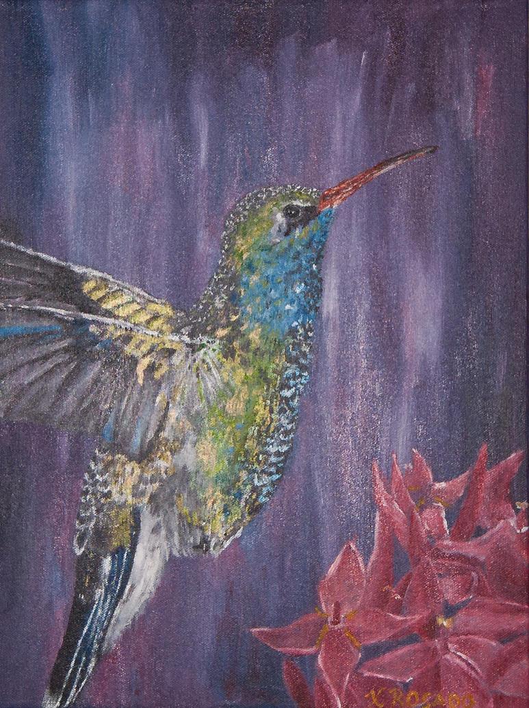 Humming Bird by Xiomara05