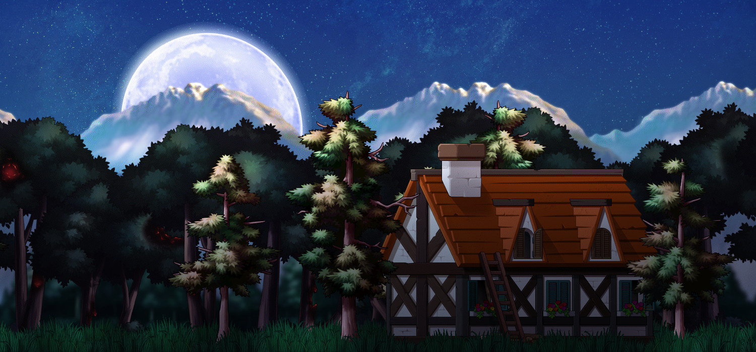 maplestory background lonely home by soardesigns on