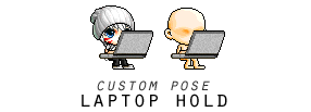 {Maplestory} Laptop Pose by SoarDesigns