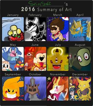 Art Summary-2016