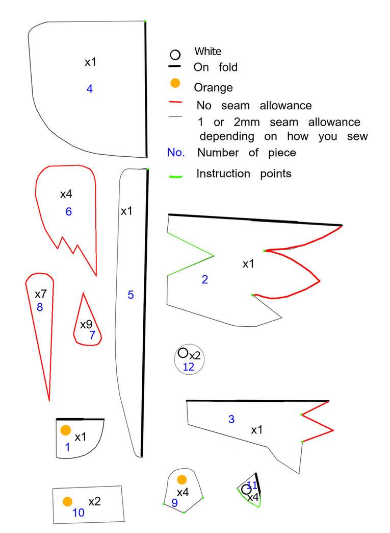 Chocobo pattern V.2 by KimmiJe