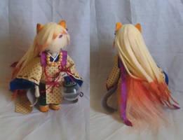 ::Art Trade:: Kyubi by KimmiJe