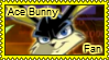 Ace Bunny stamp