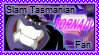 Slam Tasmanian stamp by 6t76t