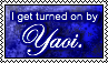 Turned on by Yaoi stamp by 6t76t