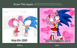 Draw This Again Meme - Sonamy Moment by 6t76t