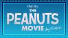 The Peanuts Movie stamp