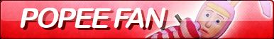 Popee fan button by 6t76t