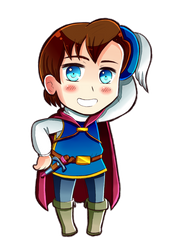 Disney Princes in APH style ~ The Prince(Florian) by 6t76t