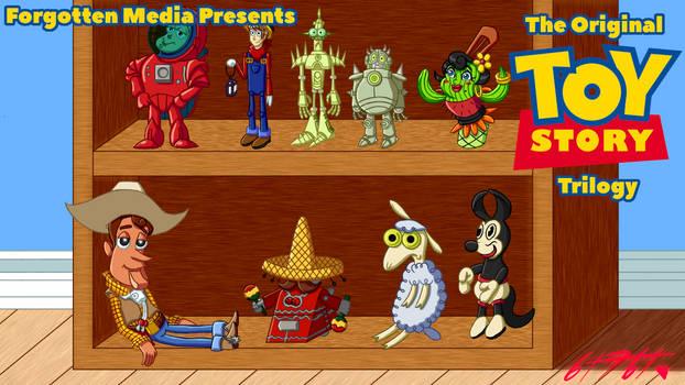 Forgotten Media - Original Toy Story Trilogy