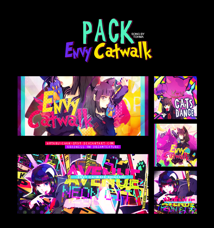 Pack|Envy Catwalk by Ryuuse