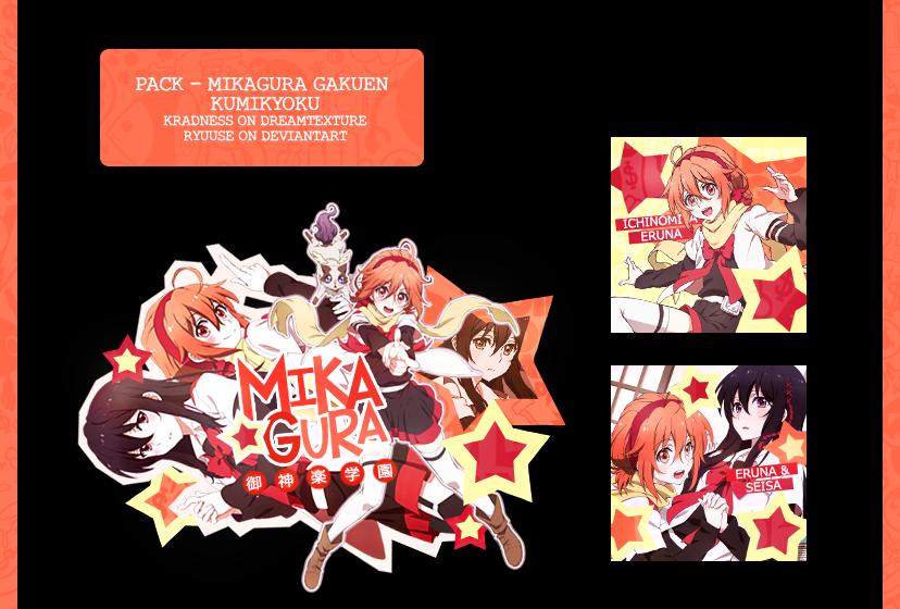 Mikagura Gakuen|Pack by Ryuuse